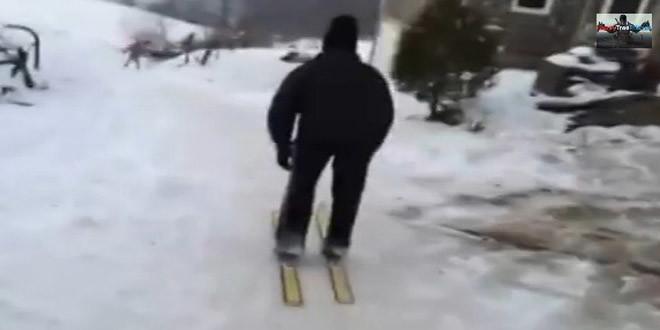 Pogledajte zašto je ovo skijanje u BiH postalo hit na društvenim mrežama – Vi...